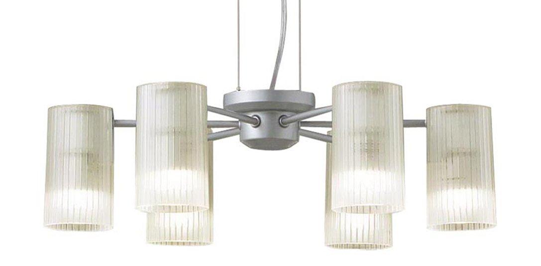 LGB19653K パナソニック Panasonic 照明器具 吹き抜け用LEDシャンデリア 電球色 40形電球6灯相当 【~6畳】