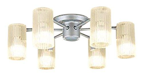 【12/19 20:00~12/26 1:59 大感謝祭中はポイント最大35倍】LGB57673K パナソニック Panasonic 照明器具 LEDシャンデリア 天井直付型 電球色 60形電球6灯器具相当 LGB57673K