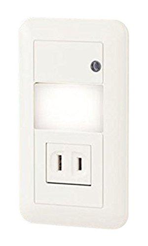 LSBJ50002 パナソニック Panasonic 照明器具 LEDフットライト 埋込タイプ センサー付 コンセント付 電球色 非調光