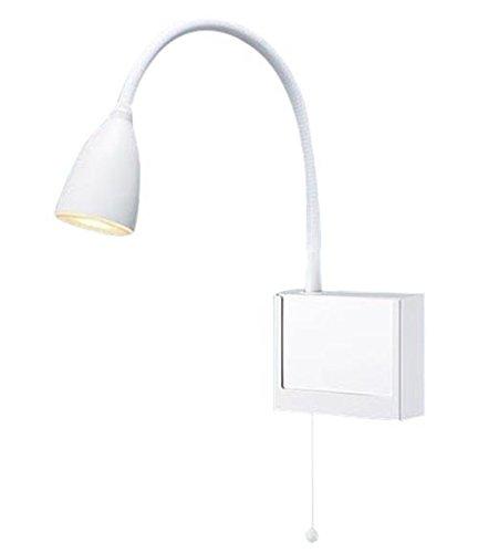 NNF23108JLE1 パナソニック Panasonic 施設照明 LEDショートアーム式ベッドライト 電球色 非調光 プルスイッチ付 読書用 病院用 高齢者福祉施設用 NNF23108JLE1
