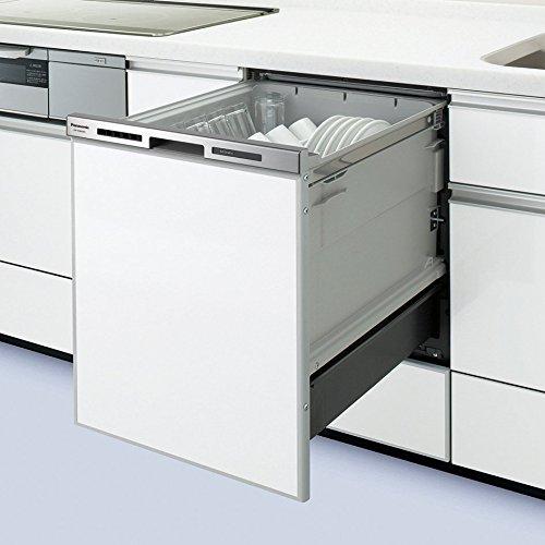 ●NP-45MD7S パナソニック Panasonic ビルトイン食器洗い乾燥機 ディープタイプ M7シリーズ 奥行65cm 幅45cm ドアパネル型(シルバー) NP-45MD7S