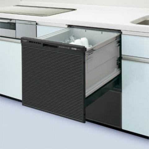 ●NP-45RS7K パナソニック Panasonic ビルトイン食器洗い乾燥機 ミドルタイプ R7シリーズ 奥行65cm 幅45cm ドアパネル型(ブラック)
