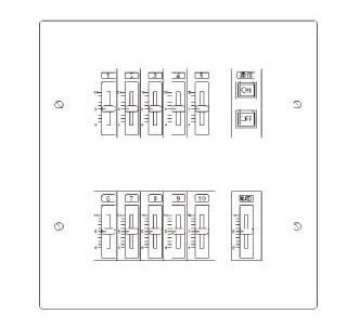 【8/25は店内全品ポイント3倍!】NQ77010パナソニック Panasonic 施設照明 スライド式手動調光操作器 NQ77010