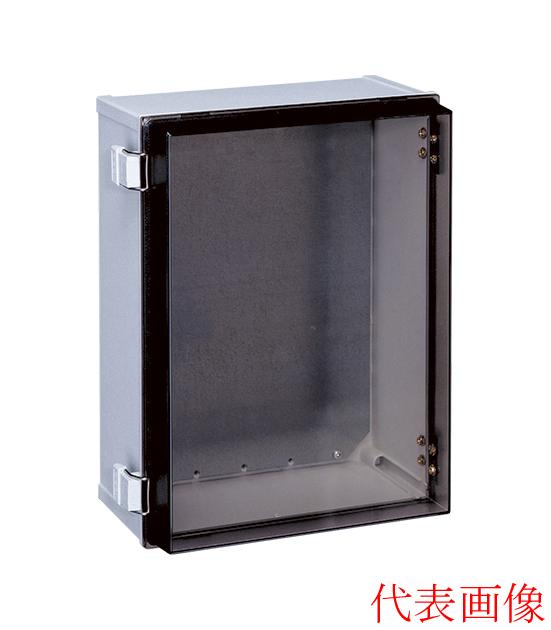PBC18-4030 日東工業 プラボックス コントロールボックス 蝶番付ポリカボックス 屋内用 透明扉付