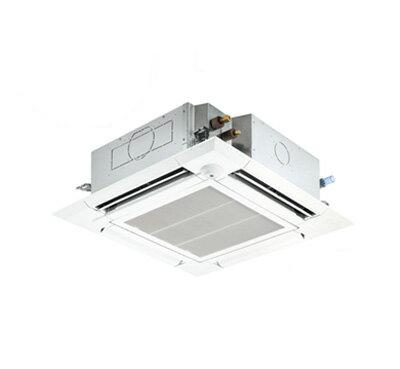 PLZ-ERMP112EET 三菱電機 業務用エアコン 4方向天井カセット形<ファインパワーカセット> スリムER 室外機コンパクトタイプ(ムーブアイセンサーパネル)シングル112形 (4馬力 三相200V ワイヤード)