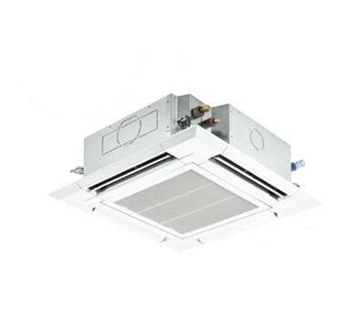 PLZ-ERMP112ET 三菱電機 業務用エアコン 4方向天井カセット形<ファインパワーカセット> スリムER 室外機コンパクトタイプ(標準パネル)シングル112形 (4馬力 三相200V ワイヤード)