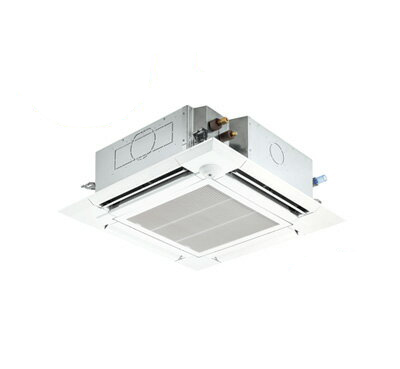 PLZ-ZRMP45SELFR 三菱電機 業務用エアコン 4方向天井カセット形<ファインパワーカセット> スリムZR(人感ムーブアイセンサーパネル)シングル45形 (1.8馬力 単相200V ワイヤレス)