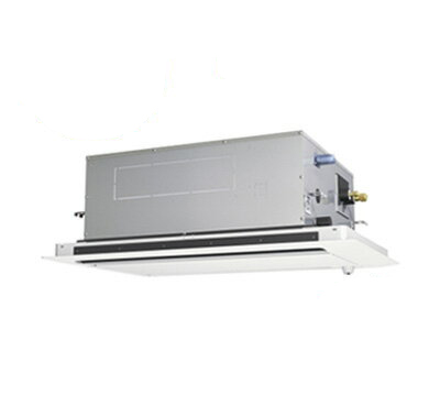 PLZ-ZRMP80SLFR 三菱電機 業務用エアコン 2方向天井カセット形 スリムZR (人感ムーブアイセンサーパネル) シングル80形 (3馬力 単相200V ワイヤード)