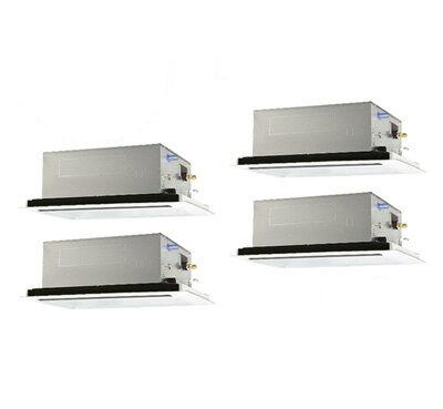 PLZD-ERP280LR 三菱電機 業務用エアコン 2方向天井カセット形 スリムER(標準パネル) 同時フォー280形 (10馬力 三相200V ワイヤード)