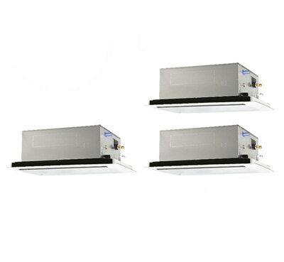 PLZT-ZRMP160LR 三菱電機 業務用エアコン 2方向天井カセット形 スリムZR(標準パネル) 同時トリプル160形 (6馬力 三相200V ワイヤレス)