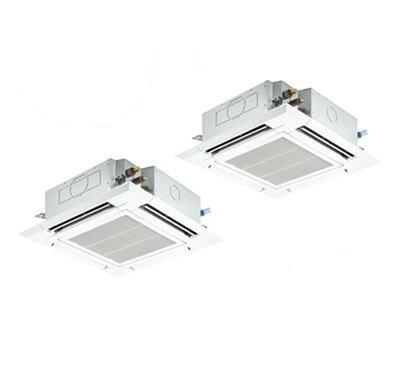 PLZX-ERMP140ET 三菱電機 業務用エアコン 4方向天井カセット形<ファインパワーカセット> スリムER 室外機コンパクトタイプ(標準パネル)同時ツイン140形 (5馬力 三相200V ワイヤード)
