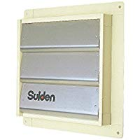 ●SCFS-50 スイデン 有圧換気扇オプション品 風圧シャッター(1枚入り)