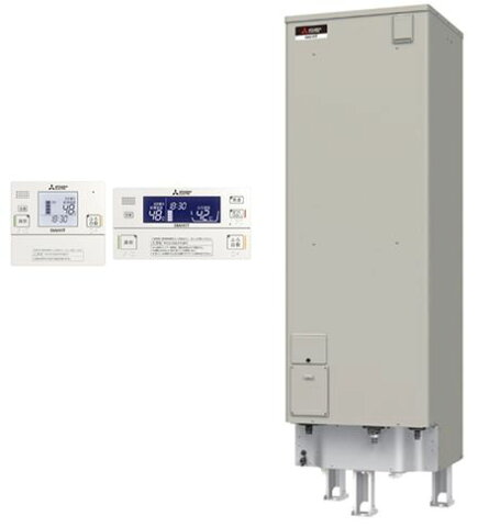 SRT-J46CDH5-ir 【インターホンリモコン付】 三菱電機 電気温水器 460L 自動風呂給湯タイプ エコオート SRT-J46CDH5 + RMC-JD5SE