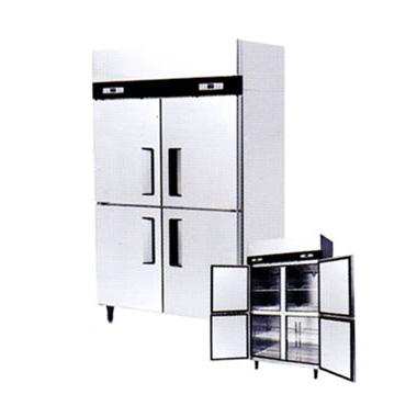 ●SSFI-1265 シェルパ 業務用 タテ型4室 冷凍庫 SSFIシリーズ 内容量:冷蔵761L 省エネインバータ搭載