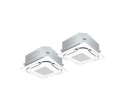 SSRC112BCD ダイキン 業務用エアコン FIVESTAR ZEAS 天井埋込カセット形S-ラウンドフロー エコオートクリーンパネル <センシング> 同時ツイン112形 (4馬力 三相200V ワイヤード)■分岐管(別梱包)含む