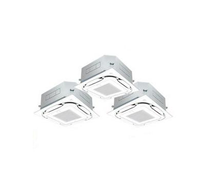SSRC160BCM ダイキン 業務用エアコン FIVESTAR ZEAS 天井埋込カセット形S-ラウンドフロー エコオートクリーンパネル <センシング> 同時トリプル160形 (6馬力 三相200V ワイヤード)■分岐管(別梱包)含む
