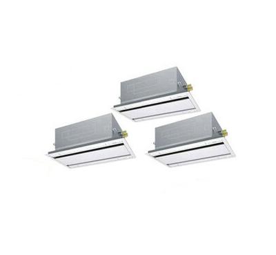 SSRG160BCM ダイキン 業務用エアコン FIVESTAR ZEAS 天井埋込カセット形エコ・ダブルフロー <センシング>タイプ 同時トリプル160形 (6馬力 三相200V ワイヤード)■分岐管(別梱包)含む