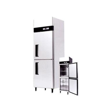 ●SSRI-665 シェルパ 業務用 タテ型2室 冷蔵庫 SSRIシリーズ 内容量:冷蔵361L 省エネインバータ搭載