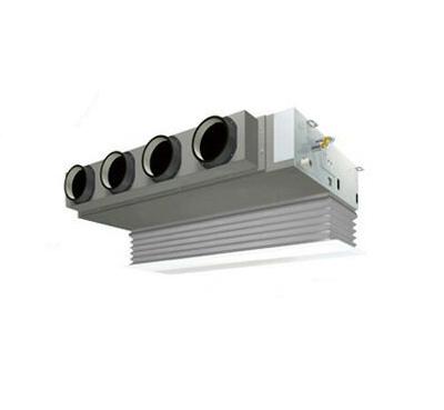 (6馬力 三相200V ワイヤード 吸込ハーフパネル仕様) ダイキン 業務用エアコン EcoZEAS 天井埋込カセット形 ビルトインHiタイプ シングル160形 SZRB160BC