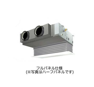 (3馬力 単相200V ワイヤード 吸込フルパネル仕様) ダイキン 業務用エアコン EcoZEAS 天井埋込カセット形 ビルトインHiタイプ シングル80形 SZRB80BCV