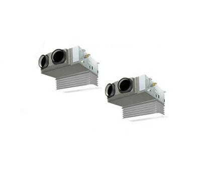 (3馬力 単相200V ワイヤード 吸込ハーフパネル仕様)■分岐管(別梱包)含む ダイキン 業務用エアコン EcoZEAS 天井埋込カセット形 ビルトインHiタイプ 同時ツイン80形 SZRB80BCVD