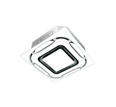SZRC80BCT ダイキン 業務用エアコン EcoZEAS 天井埋込カセット形S-ラウンドフロー デザイナーズパネル シングル80形 (3馬力 三相200V ワイヤード)