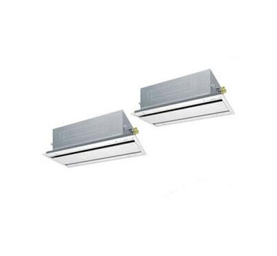 SZRG160BCND ダイキン 業務用エアコン EcoZEAS 天井埋込カセット形エコ・ダブルフロー <標準>タイプ 同時ツイン160形 (6馬力 三相200V ワイヤレス)■分岐管(別梱包)含む