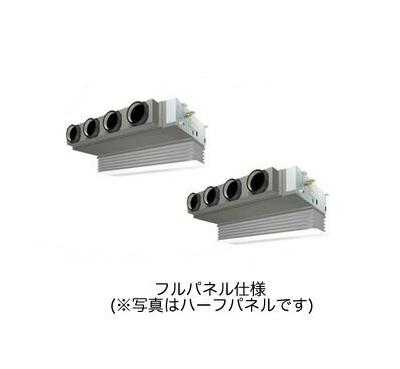 (10馬力 三相200V ワイヤード 吸込フルパネル仕様)■分岐管(別梱包)含む ダイキン 業務用エアコン EcoZEAS 天井埋込カセット形 ビルトインHiタイプ 同時ツイン280形 SZZB280CJD