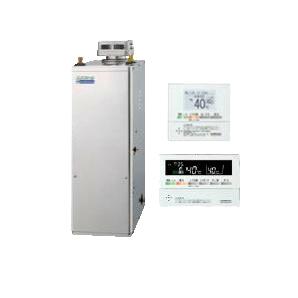 UIB-NE46HP-S-SD コロナ 石油給湯機器 エコフィール NE-Hシリーズ(高圧力型貯湯式) 給湯専用タイプ UIBシリーズ 据置型 45.6kW 屋外設置型 無煙突 ボイスリモコン付属 高級ステンレス外装 UIB-NE46HP-S(SD)