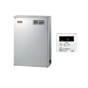 UIB-NX46HR-MSD コロナ 石油給湯機器 NX-Hシリーズ(高圧力型貯湯式) 給湯専用タイプ UIBシリーズ 据置型 45.6kW 屋外設置型 前面排気 シンプルリモコン付属 高級ステンレス外装 UIB-NX46HR(MSD)