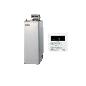 UIB-NX46R(S) コロナ 石油給湯機器 NXシリーズ(貯湯式) 給湯専用タイプ UIBシリーズ 据置型 45.6kW 屋外設置型 無煙突 シンプルリモコン付属 高級ステンレス外装 減圧逆止弁・圧力逃し弁必要