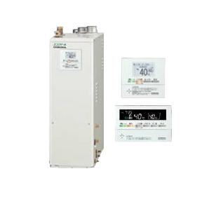 UKB-EF470RX5-S-FFK コロナ 石油給湯機器 エコフィール EFシリーズ(水道直圧式) 給湯+追いだきタイプ UKBシリーズ 据置型 46.5kW 屋内設置型 強制給排気 ボイスリモコン付属(着脱式) UKB-EF470RX5-S(FFK)