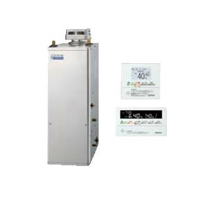 UKB-NE460AP-S-SD コロナ 石油給湯機器 エコフィール NEシリーズ(標準圧力型貯湯式) オートタイプ UKBシリーズ(給湯+追いだき) 据置型 45.6kW 屋外設置型 無煙突 インターホンリモコン付属 高級ステンレス外装 UKB-NE460AP-S(SD)