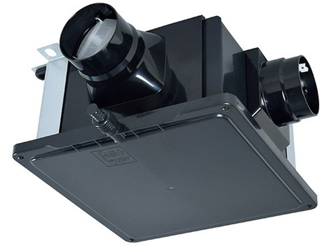 V-18ZMC6 三菱電機 ダクト用換気扇 中間取付形 サニタリー用 1~3部屋換気用 高静圧 24時間換気機能 浴室・トイレ・洗面所(居間・事務所・店舗)用 V-18ZMC6