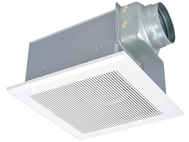 VD-23ZLX10-CS 三菱電機 ダクト用換気扇 天井埋込形 居間・事務所・店舗用 低騒音形 24時間換気機能付 インテリア格子タイプ