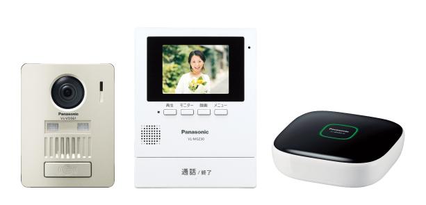 VL-SGZ30K パナソニック Panasonic モニター壁掛け式ワイヤレステレビドアホンキット(ホームネットワークシステム) 1+1タイプ 基本システムセット