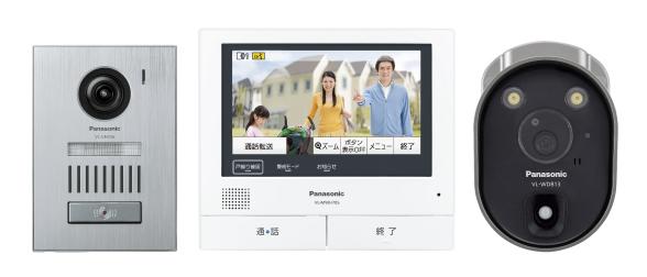 VL-SVH705KSC パナソニック Panasonic 業界初 外でもドアホン ワイヤレスカメラ付属テレビドアホン3-7タイプ 基本システムセット VL-SVH705KSC