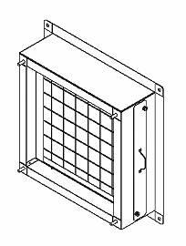 VP-40-FU 東芝 換気扇 システム部材 有圧換気扇フィルターユニット(給気・排気両用)