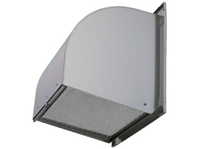 W-40SDBFCM 三菱電機 有圧換気扇用システム部材 ウェザーカバー 厨房等高温場所用 防火タイプ 防虫網付 排気形屋外メンテナンス簡易タイプ ステンレス製