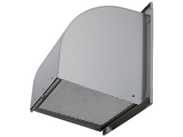 ●W-50SBFM 三菱電機 有圧換気扇用システム部材 ウェザーカバー 標準タイプ 防虫網付 排気形屋外メンテナンス簡易タイプ ステンレス製