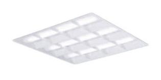 XL382CBVLA9 パナソニック Panasonic 施設照明 一体型LEDベースライト 昼白色 埋込型 スクエアタイプ FHP45形×3灯節電タイプ 格子タイプ □600 連続調光型 XL382CBVLA9