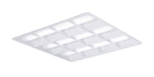 XL384CBVLA9 パナソニック Panasonic 施設照明 一体型LEDベースライト 昼白色 埋込型 スクエアタイプ FHP45形×4灯相当 格子タイプ □600 連続調光型 XL384CBVLA9
