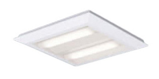 XL463PEULA9 パナソニック Panasonic 施設照明 一体型LEDベースライト 白色 直埋兼用 FHP23形×4灯節電タイプ スクエアタイプ 下面開放 □470 連続調光型