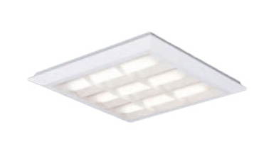 XL472CBULA9 パナソニック Panasonic 施設照明 一体型LEDベースライト 白色 直埋兼用 FHP32形×3灯節電タイプ スクエアタイプ 格子タイプ □570 連続調光型 XL472CBULA9