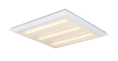 ●XL482PETLA9 パナソニック Panasonic 施設照明 一体型LEDベースライト 電球色 直埋兼用 FHP45形×3灯節電タイプ スクエアタイプ 下面開放 □720 連続調光型 XL482PETLA9