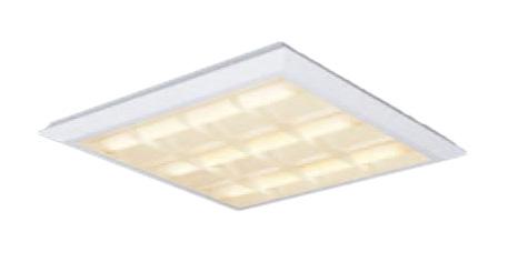 XL483CBTLA9 連続調光型 スクエアタイプ □720 直埋兼用 Panasonic 格子タイプ ●XL483CBTLA9 FHP45形×3灯相当 施設照明 電球色 一体型LEDベースライト パナソニック