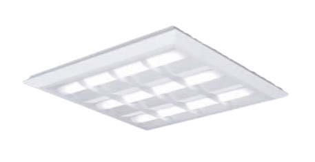 ●XL484CBVLA9 ●パナソニック Panasonic 施設照明 一体型LEDベースライト 昼白色 直埋兼用 FHP45形×4灯相当 スクエアタイプ 格子タイプ □720 連続調光型 XL484CBVLA9