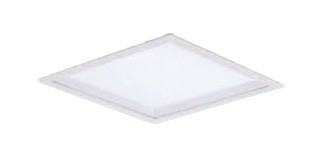 XL563PGFJLA9 パナソニック Panasonic 施設照明 一体型LEDベースライト 温白色 埋込型 FHP23形×3灯相当 スクエアタイプ 乳白パネル □350 深枠(白)タイプ 連続調光型 XL563PGFJLA9