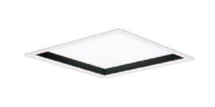 XL584PHUJLA9 パナソニック Panasonic 施設照明 一体型LEDベースライト 白色 埋込型 FHP45形×4灯相当 スクエアタイプ 乳白パネル □600 深枠(黒)タイプ 連続調光型 XL584PHUJLA9