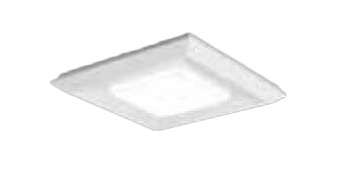 XLX180AKVLA9 パナソニック Panasonic 施設照明 一体型LEDベースライト 温白色 直付/埋込兼用 スクエア光源タイプ □570 連続調光型 下面開放型 コンパクト形蛍光灯FHP32形4灯器具相当 8000lm
